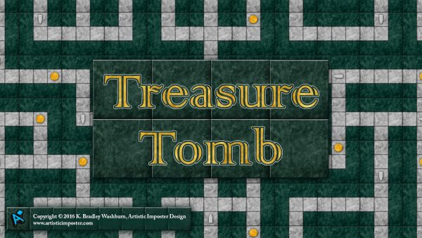 Treasure Tomb Game Art Wallpaper