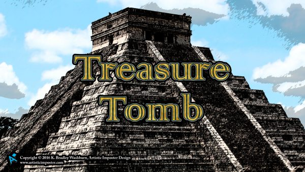 Treasure Tomb Box Art Wallpaper