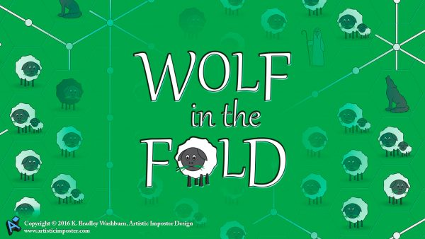 Wolf In The Fold Wallpaper